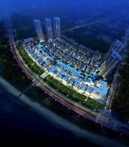 珠海唐家湾崛起18万平米国际主题商业巨舰